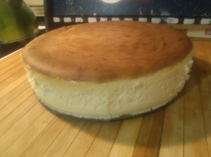 Homemade cheesecake! Something new from my 2015 homestead.
